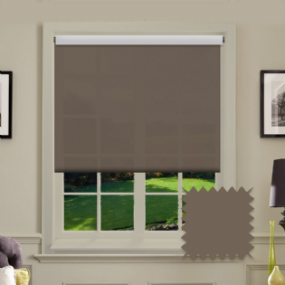 Light Brown Roller Blind - Astral Havana
